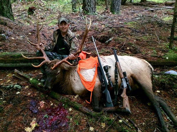 2015 Remote Roosevelt Elk Hunt