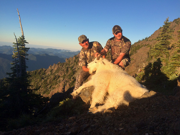 2016 Olympic Peninsula Goat Hunt