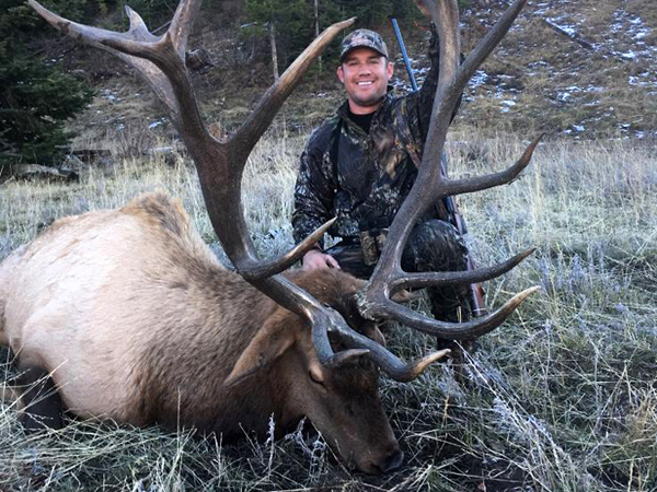 Trophy Bull Remote Rifle Hunt 2018 - Score 368