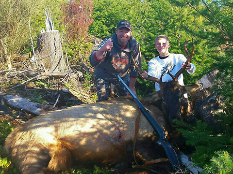 Youth Hunt Late Muzzleloader Roosevelt Elk 2015